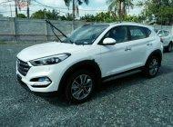 Bán xe Hyundai Tucson 2019, máy xăng, màu trắng, số tự động giá 828 triệu tại Tp.HCM