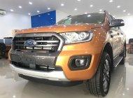 Bán xe Ford Ranger Wildtrak Bi Turbo 4x4, màu cam, nhập khẩu, giao ngay giá 918 triệu tại Tp.HCM