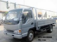 Bán xe tải JAC 2t4, máy Isuzu đời 2019, giá cạnh tranh giá 385 triệu tại Bạc Liêu