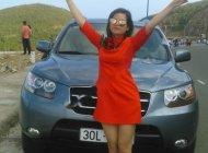 Bán Hyundai Santa Fe MLX 2.0L năm 2008, màu xanh lam, nhập khẩu  giá 515 triệu tại Bắc Ninh
