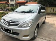 Bán Innova G đời 2010, màu bạc, giá 423tr, xe đẹp test hãng thoải mái, LH 0981662851 giá 423 triệu tại Hà Nội