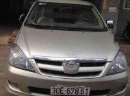 Bán Toyota Innova G năm sản xuất 2007, màu bạc, số sàn giá 350 triệu tại Hà Nội