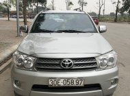 Cần bán Toyota Fortuner 2.7V 4x4 AT 2010, màu bạc, 460 triệu giá 460 triệu tại Hà Nội