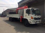 Bán xe tải cẩu Hino 500 Series FL sản xuất 2019, màu trắng giá 1 tỷ 900 tr tại Tp.HCM