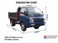 Xe Ben TMT Daisaki 3T45 giá 405 triệu tại Cần Thơ