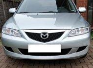 Cần bán xe Mazda 6 số sàn, đời 2004, Đk 2005, màu bạc giá 258 triệu tại Tp.HCM