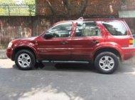 Cần bán lại xe Ford Escape sản xuất năm 2002, màu đỏ, nhập khẩu nguyên chiếc, số tự động, 159 triệu giá 159 triệu tại Tp.HCM
