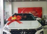 Bán xe Hyundai Santa Fe đời 2019, màu trắng giá 1 tỷ 105 tr tại Tp.HCM