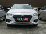 Chính chủ bán lại xe Hyundai Accent 1.4MT đời 2018, màu trắng, nhập khẩu giá 405 triệu tại Hà Nội