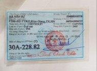 Bán Chevrolet Captiva Maxx LTZ AT đời 2010 chính chủ, giá tốt giá 395 triệu tại Hà Nội