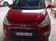 Bán Hyundai Grand i10 AT đời 2015, màu đỏ, nhập khẩu nguyên chiếc giá 345 triệu tại Bình Dương