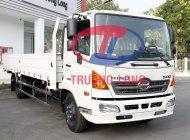 Xe tải thùng lửng 6 tấn rưỡi, tổng tải 11 tấn | Hino Series 500 FC Euro4 giá 955 triệu tại Tp.HCM