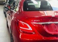 Cần bán Mercedes C200 đời 2019, màu đỏ, dòng Sedan giá Giá thỏa thuận tại Tp.HCM