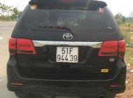 Cần bán lại xe Toyota Fortuner G đời 2016, màu đen số sàn giá 835 triệu tại Tp.HCM