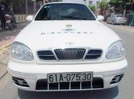Bán Daewoo Lanos 1.5-SX năm sản xuất 2002, màu trắng-Xe rin nguyên bản giá 118 triệu tại Bình Dương