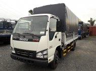 Xe isuzu 2 tấn 3 thùng mui bạt màu trắng - Hỗ trợ vay 80%  giá 368 triệu tại Tp.HCM