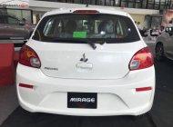 Bán ô tô Mitsubishi Mirage 1.2 MT đời 2019, màu trắng, diện mạo mới sành điệu hơn, cá tính hơn giá 350 triệu tại Hà Nội