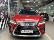 Bán Lexus RX350 2017, màu đỏ, nhập khẩu nguyên chiếc giá 3 tỷ 780 tr tại Tp.HCM