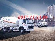 Bán xe trộn bê tông Howo 10 khối - 12 khối - 15 khối, nhập khẩu 100% 2019 giá 1 tỷ 300 tr tại Tp.HCM
