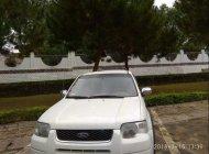 Cần bán Ford Escape 2.0 MT đời 2003, màu trắng, xe 5 chỗ giá 210 triệu tại Kon Tum