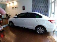 Cần bán xe Toyota Vios E MT, Sx tháng 9/2017, màu trắng, còn mới 90% giá 430 triệu tại Tp.HCM