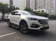 Bán Hyundai Santa Fe 2.4 AT đời 2016, màu trắng số tự động, giá 930tr giá 930 triệu tại Hà Nội