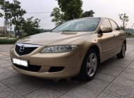 Nhà bán Mazda 6 đời 2004, màu vàng, 265tr giá 265 triệu tại Ninh Bình