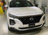 Bán xe Hyundai Santa Fe 2.4L H-TRAC đời 2019, màu trắng giá 1 tỷ 185 tr tại Tp.HCM