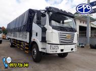 Xe tải FAW 7t2 thùng dài 9m7 - Hỗ trợ trả góp. giá 300 triệu tại Bình Dương
