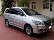 Bán ô tô Toyota Innova 2.0E đời 2013, màu bạc, còn mới giá 415 triệu tại Hà Nội