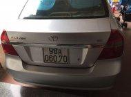 Cần bán Daewoo Gentra năm sản xuất 2009, màu bạc, nhập khẩu giá 170 triệu tại Bắc Giang