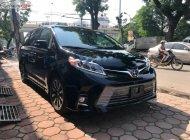 Bán Toyota Sienna Limited 3.5 đời 2019, màu đen, nhập khẩu giá 4 tỷ 380 tr tại Tp.HCM