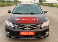 Bán ô tô Toyota Corolla 1.6XLI sản xuất 2011, màu đen, xe nhập giá 535 triệu tại Hà Nội