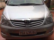 Bán Toyota Innova đời 2008, màu bạc xe gia đình giá 260 triệu tại Hải Phòng