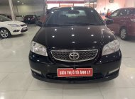 Bán Toyota Vios 1.5E đời 2004, màu đen giá 175 triệu tại Phú Thọ
