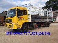Xe tải DongFeng 9 Tấn B180. Xe tải DongFeng B180 nhận khẩu. Gía bán xe tải DongFeng B180 thùng dài 7m6 giá 935 triệu tại Bình Dương