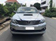 Cần bán xe Toyota Fortuner 2.4G 2014 dk 2015 , màu bạc giá 745 triệu tại Tp.HCM