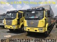 Faw 7T25 thùng dài 9m7. Xe tải Faw 7T25 Euro 4 mới 2019. Xe Faw 7.25t thùng dài 9m7 giá 995 triệu tại Bình Dương
