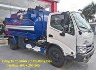 Bán xe bồn Hino 6 khối Dutro XZU342L 2019 trả góp uy tín TPHCM giá 725 triệu tại Tp.HCM