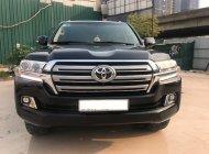Bán Toyota Land Cruiser VX sản xuất 2016, đăng ký 2016 tên cty màu đen nội thất kem giá 3 tỷ 530 tr tại Hà Nội