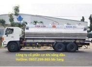 Bán xe bồn xi téc Hino 20 khối 4 ngăn chở xăng dầu, trả góp TPHCM giá 2 tỷ 210 tr tại Tp.HCM