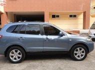 Bán xe Hyundai Santa Fe MLX 2.2L đời 2006, màu xanh lam, nhập khẩu giá 460 triệu tại Hà Nội