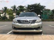 Bán Toyota Fortuner 2.7V 4x2 AT năm 2013, màu bạc, số tự động giá 575 triệu tại Hà Nội
