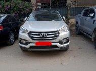 Cần bán lại xe Hyundai Santa Fe 2.4L đời 2017, màu bạc giá 980 triệu tại Hà Nội