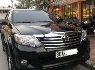 Bán Toyota Fortuner 2.7V 4x2 AT 2014, màu đen, số tự động, giá tốt giá 695 triệu tại Hà Nội