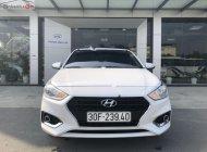 Cần bán lại xe Hyundai Accent 1.4 MT năm sản xuất 2018, màu trắng giá 429 triệu tại Hà Nội