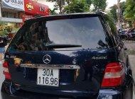 Bán Mercedes ML350 đời 2006, màu xanh lam, nhập khẩu giá 450 triệu tại Hà Nội
