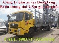Xe tải DongFeng Euro 5 (Xe tải DongFeng B180) thùng bạt dài 9m5, thùng kín dài 9m7 giá 990 triệu tại Bình Dương