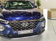 Bán xe Hyundai Santa Fe đời 2019, màu xanh lam giá 1 tỷ 205 tr tại Tp.HCM