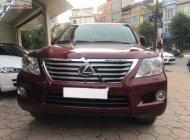Bán Lexus LX 570 đời 2010, màu đỏ, nhập khẩu, chính chủ giá 2 tỷ 800 tr tại Hà Nội